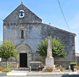 Eglise de Poursay-Garnaud